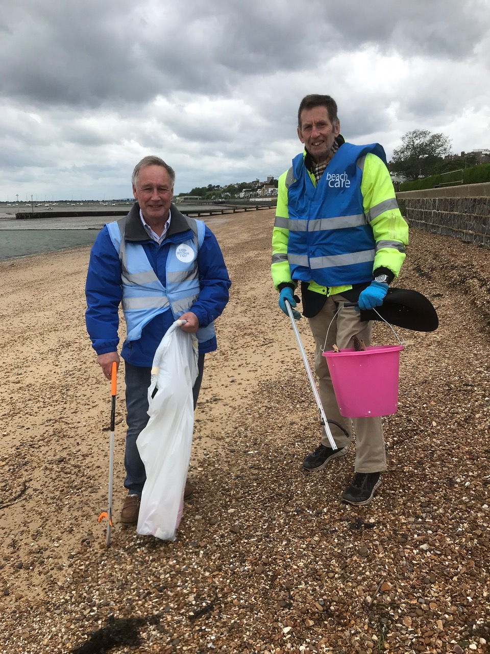 Keeping Southend beaches clean & safe