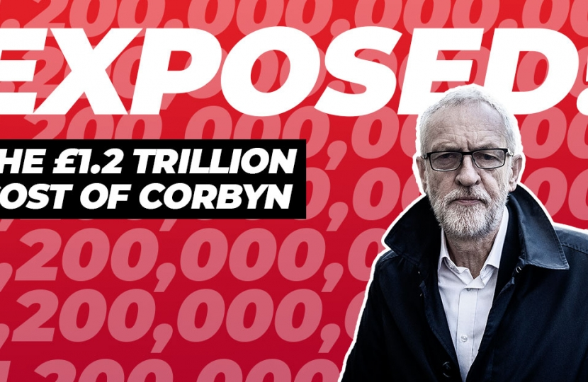 Labour's reckless spending revealed: The £1.2 trillion cost of Corbyn